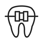 7252 Tooth with Braces